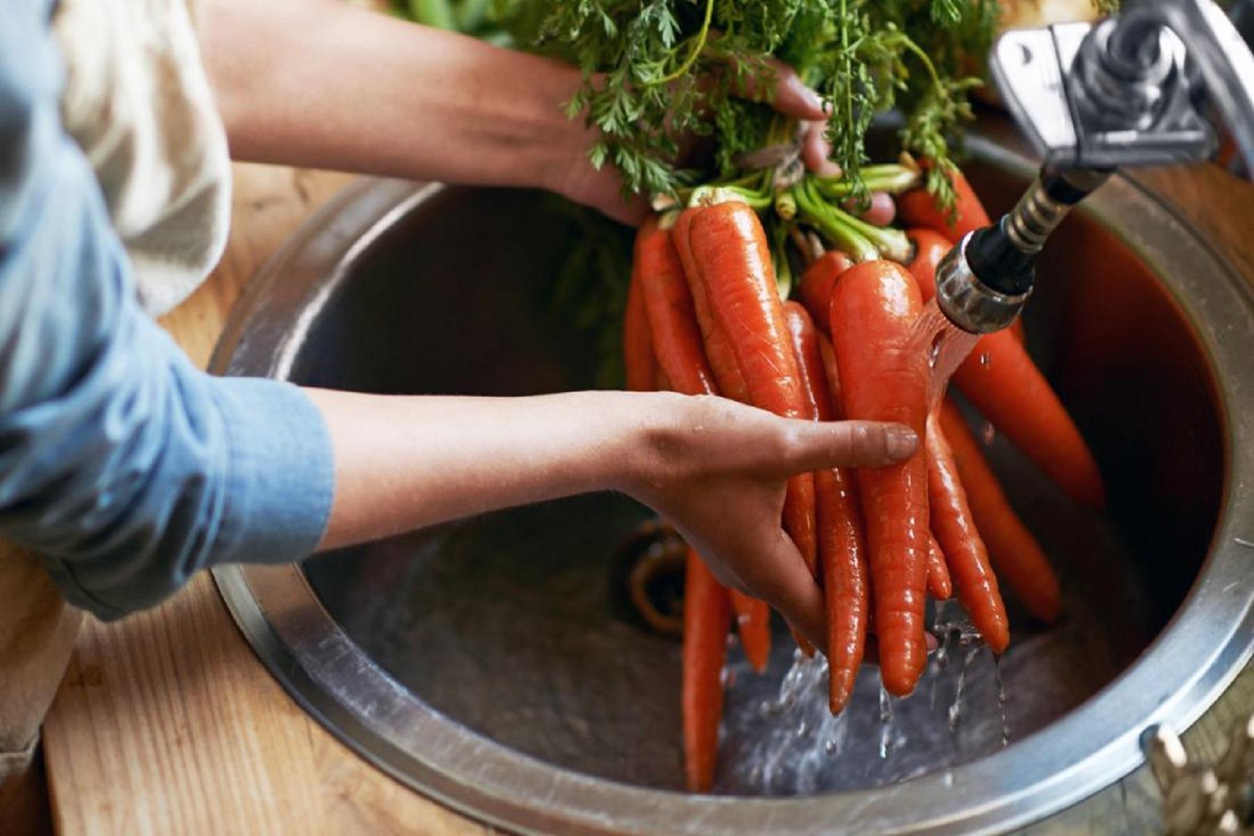 Φρούτα Λαχανικά: Προϊόντα πλυσίματος και θέματα ασφάλειας των τροφίμων