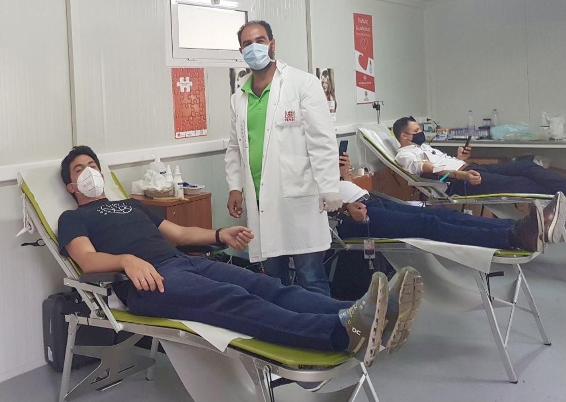 INTERAMERICAN: Yποστηρίζει την εθελοντική αιμοδοσία και εκστρατεία για τον διαβήτη