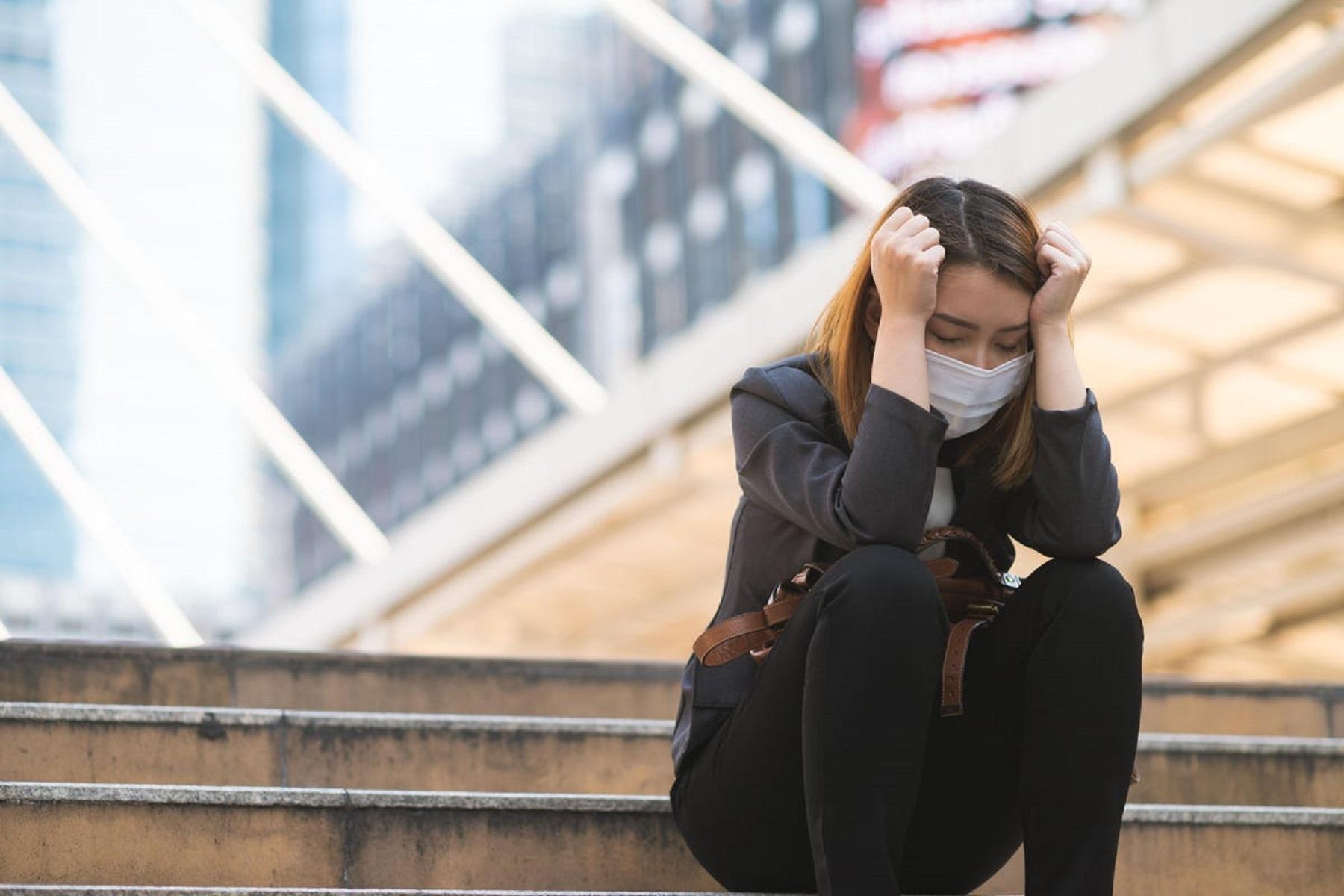 Κορωνοϊός Πανδημία: Η κατάθλιψη τριπλασιάζεται από την έναρξη της COVID-19