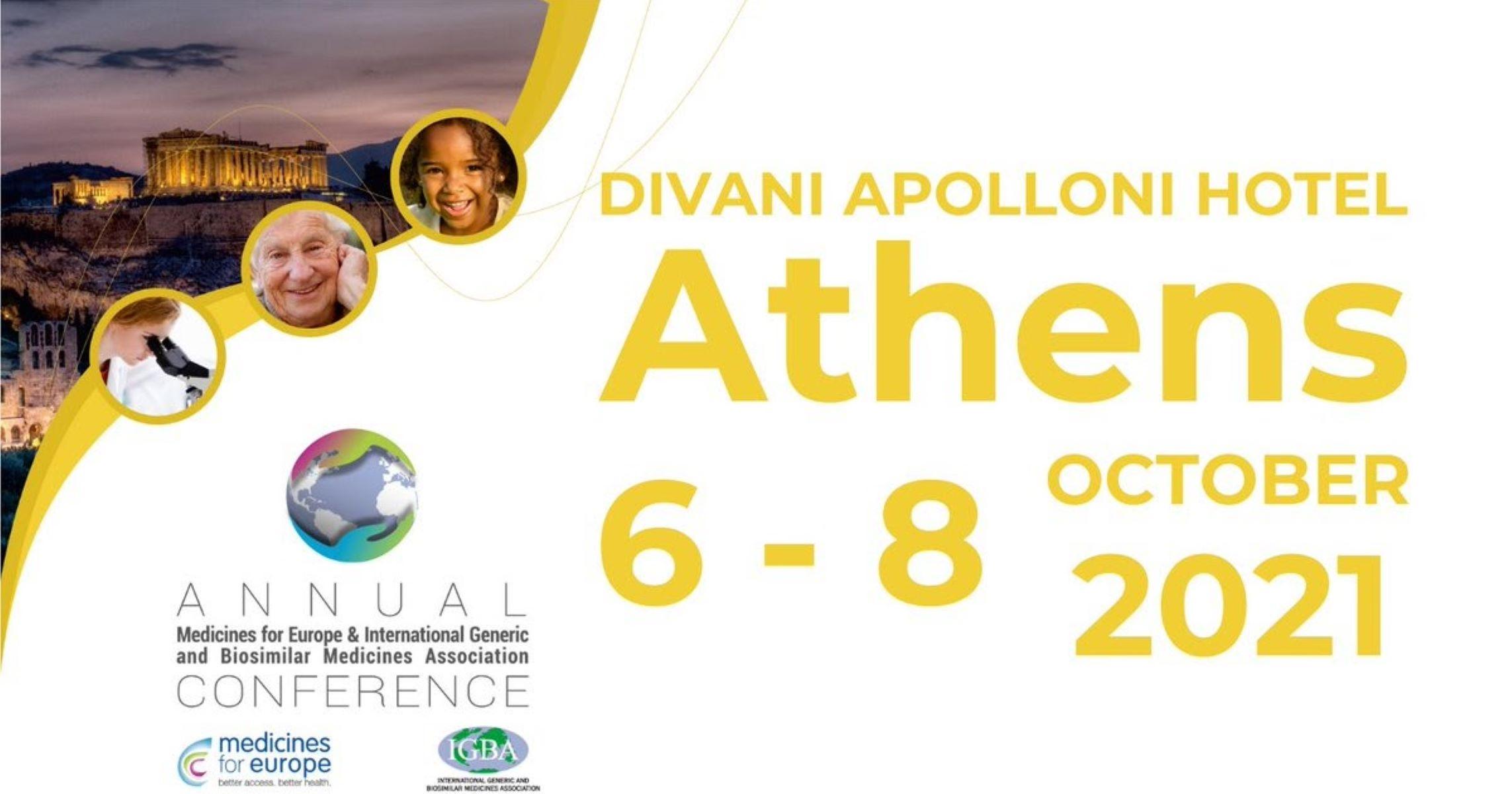 Medicines for Europe: Το διεθνές συνέδριο της ευρωπαϊκής φαρμακοβιομηχανίας στην Αθήνα