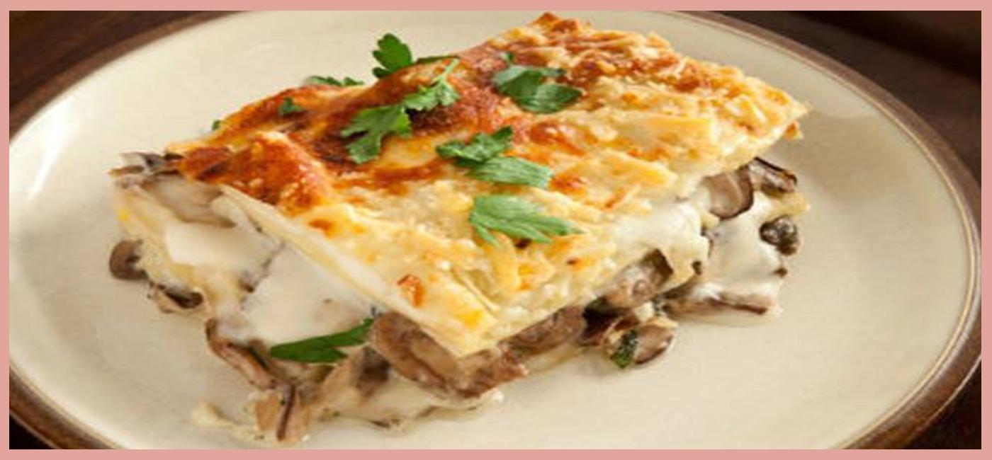 Κλασικό Ιταλικό Πιάτο: Βετζετέριαν λαζάνια με μελιτζάνες και φέτα