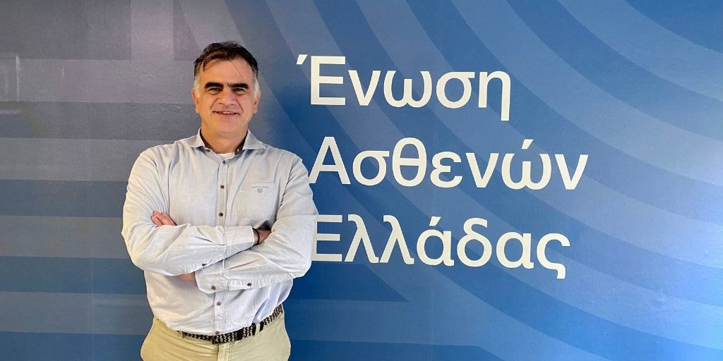 Ένωση Ασθενών Ελλάδας: O Χρήστος Βαράκης αναλαμβάνει νέος Διευθυντής